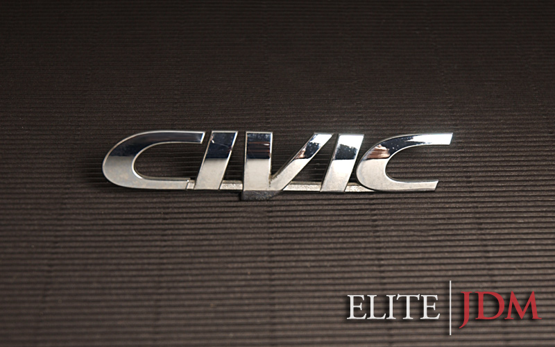 "HONDA ""CIVIC"" EMBLEM"