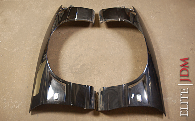 Nissan Silvia S13 FRP Wide Front Fenders