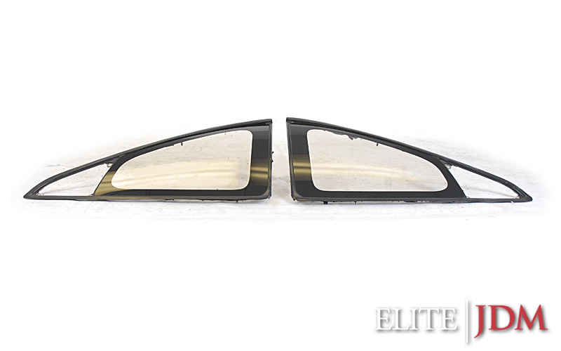 Toyota MR2 SW20 Rear side windows glass set