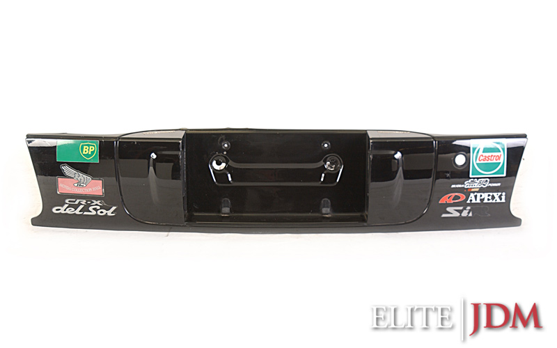 Honda Del Sol SiR EG2 Rear Filler Panel / License Plate Lights