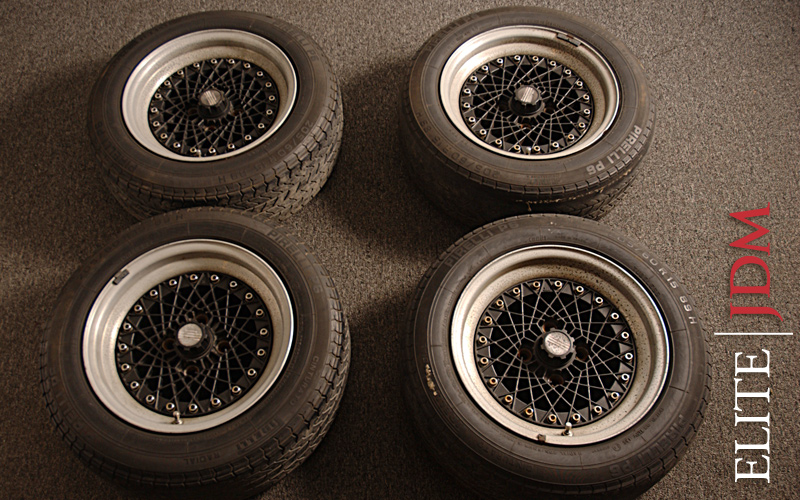 AMERICAN RACING of JAPAN MESH WHEEL SET