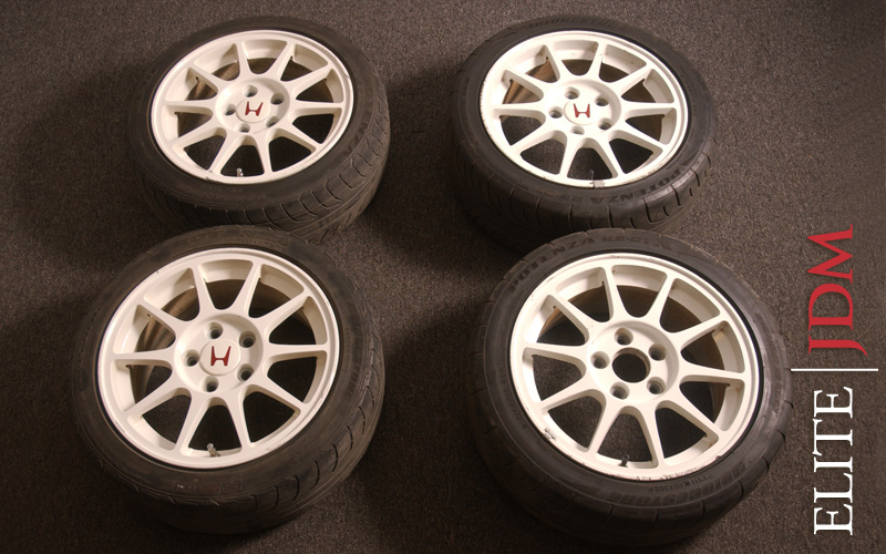 OEM 98 SPEC INTEGRA TYPE R WHEEL SET