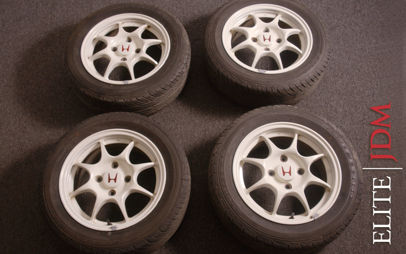 OEM HONDA INTEGRA TYPE R 97 SPEC WHEEL SET