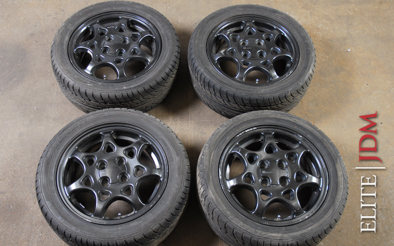 Honda Civic SiR EG6 OEM Wheel Set