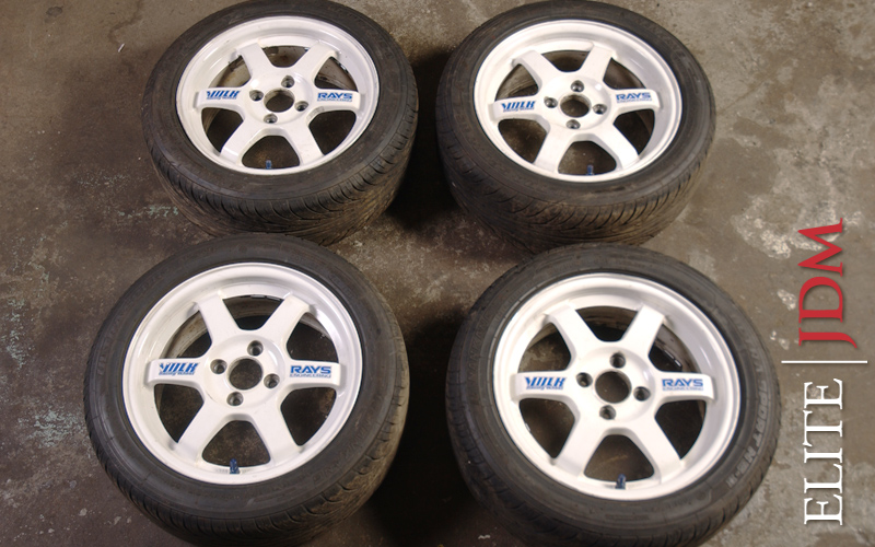 Volk TE-37 Wheel Set