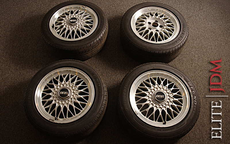 BBS Mesh Wheel Set