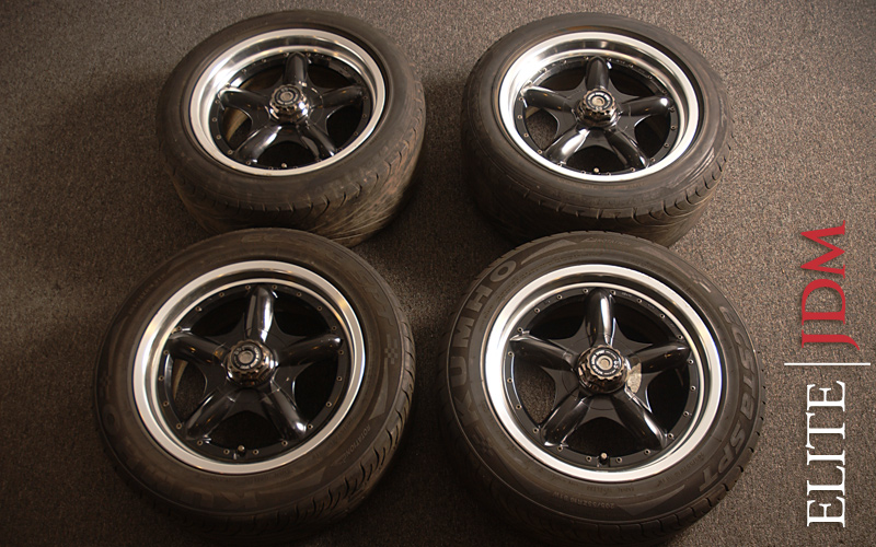 SSR Hasemi Sport S5 Wheel Set