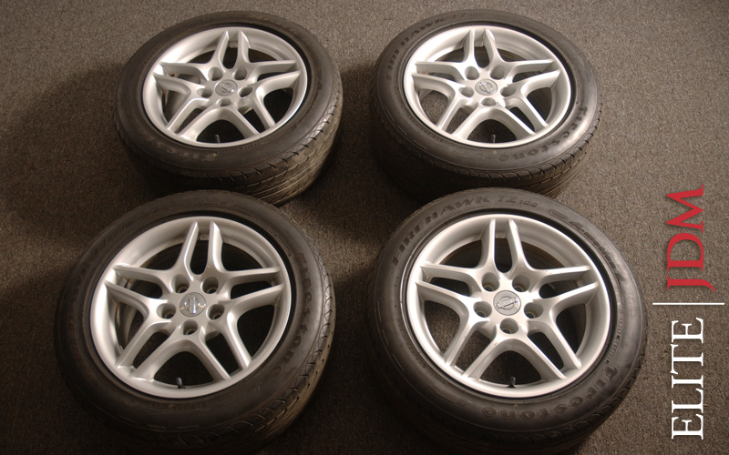 OEM NISSAN STAGEA WHEEL SET