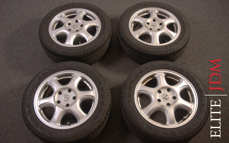 OEM LEXUS IS300 WHEEL SET