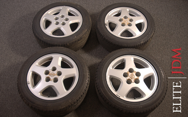 OEM NISSAN SILVIA S14 WHEEL SET