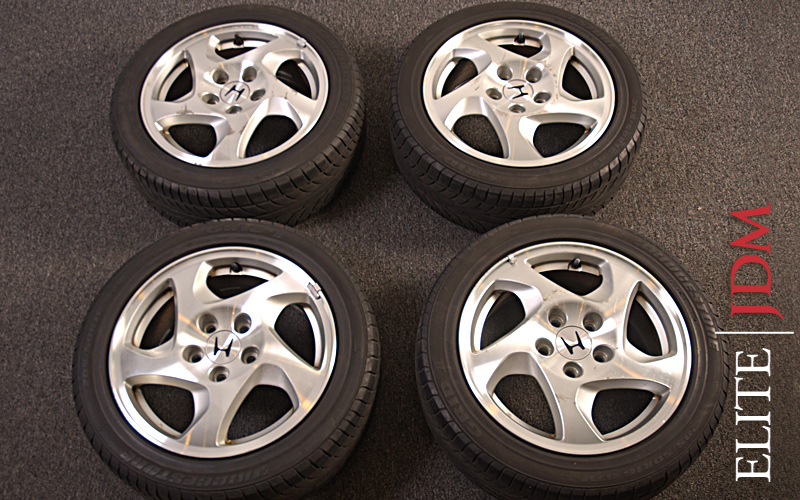 OEM HONDA PRELUDE SiR WHEEL SET