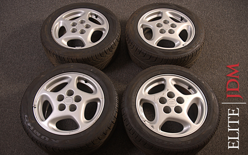 OEM NISSAN 300ZX WHEEL SET