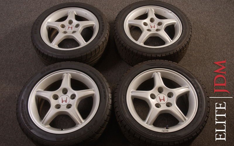 OEM HONDA PRELUDE SiR TYPE S WHEEL SET