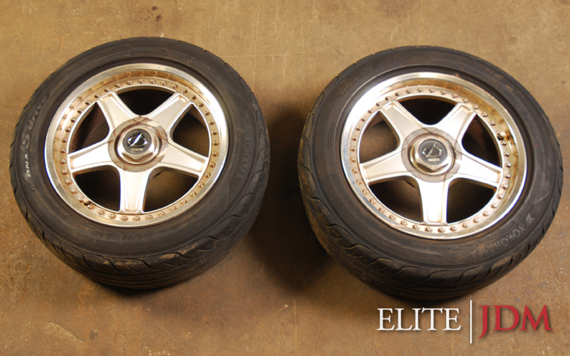 Stitch 16 inch Wheel Pair