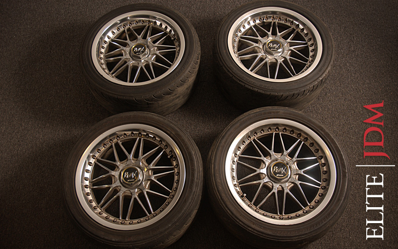 Work Rezak Wheels Set
