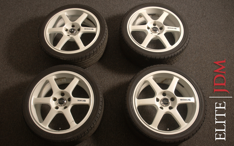 Yokohama AVS Model 6 Wheel Set