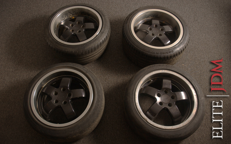 BRENZ 5 Spoke Wheel Set
