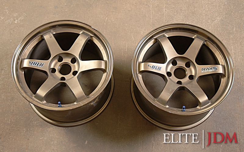Volk Racing TE-37 Wheel Pair
