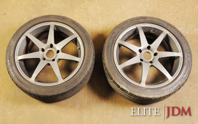 Ray's Engineering Versus Campionato SS7 Wheel Pair