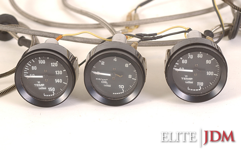 Lamco 52mm Water Temperature Oil Pressure Oil Temperature Gauge Set