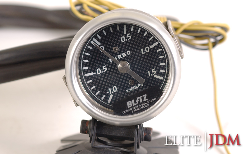 Blitz 43 mm Mechanical Boost Gauge