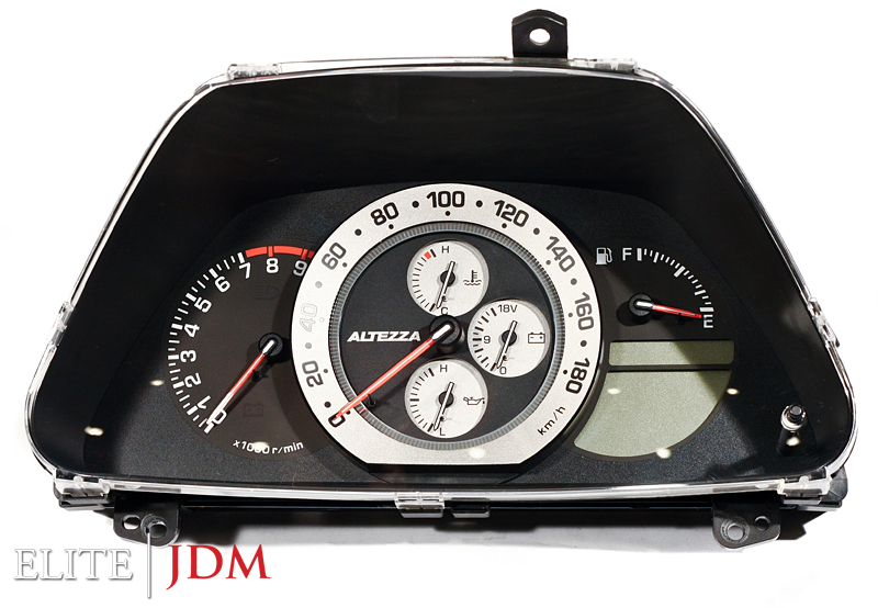 Toyota Altezza RS200 SXE10 A/T Gauge Cluster