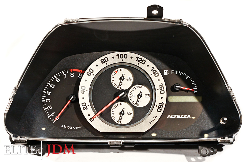 Toyota Altezza RS200 SXE10 M/T Gauge Cluster