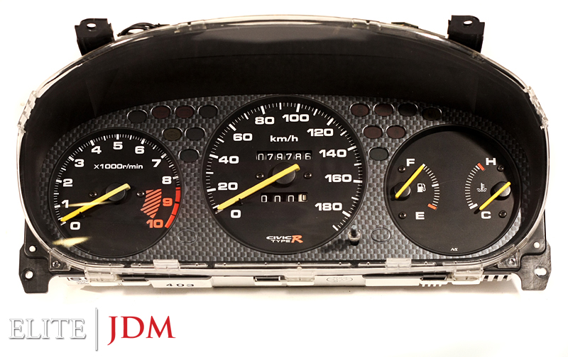 Honda Civic Type R EK9 Gauge Cluster