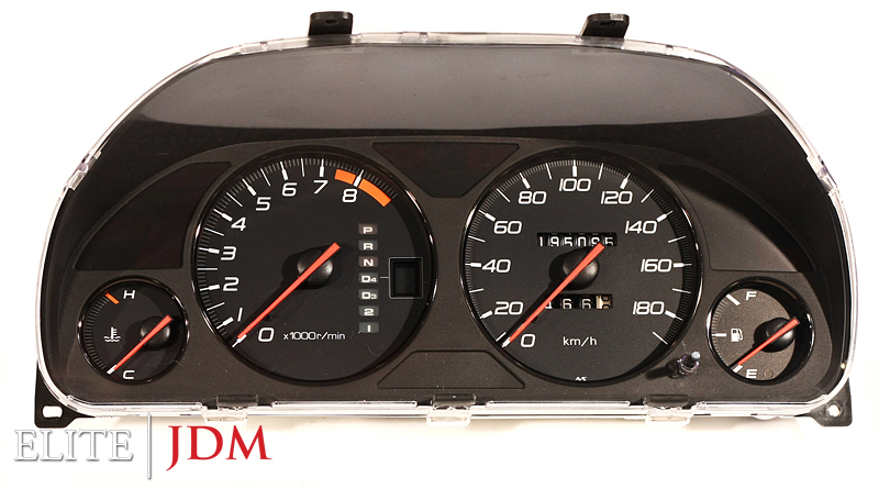Honda Prelude SiR BB8 Automatic Gauge Cluster