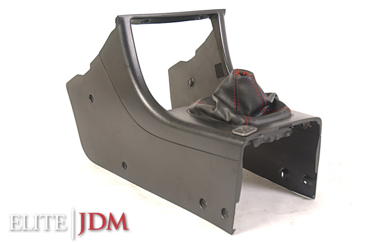 Honda Prelude SiR BB4 Center Console with Red Stitching Shift Boot