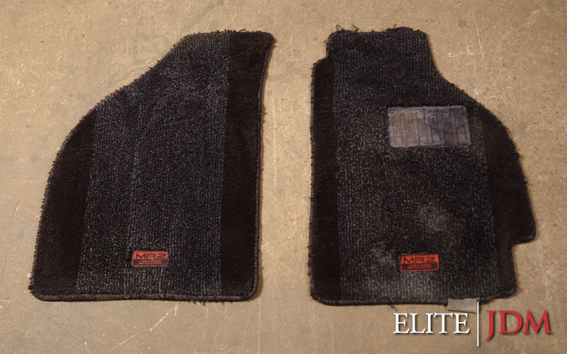 Toyota MR2 Kouki SW20 Floor Mat Set