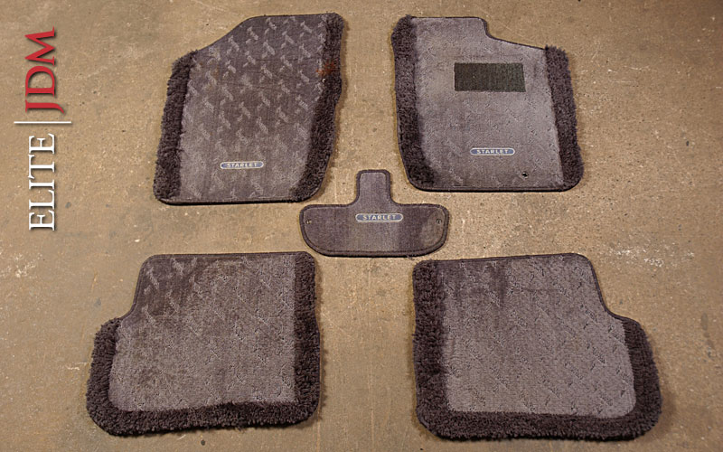 Toyota Starlet GT Turbo EP82 Floor Mat Set