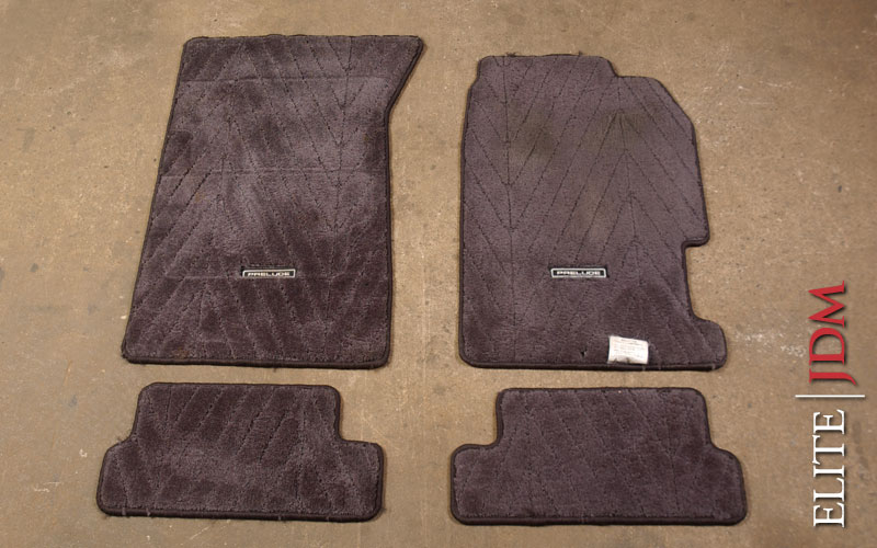 Honda Prelude BB6 SiR Type S Floor Mat Set