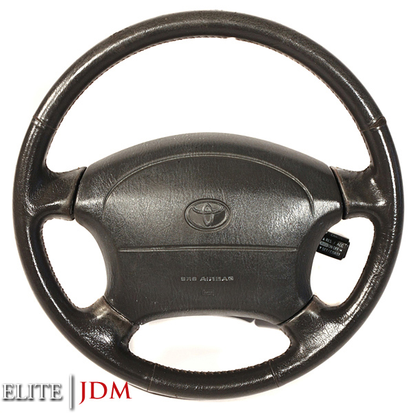 Toyota Aristo / Lexus GS300 JSZ147 OEM Steering Wheel with SRS