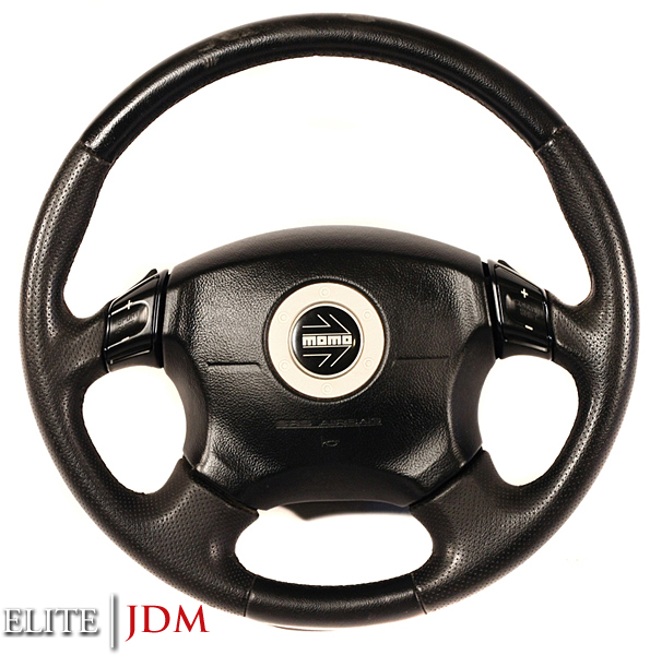 Subaru Legacy BE5 SRS MOMO Steering Wheel
