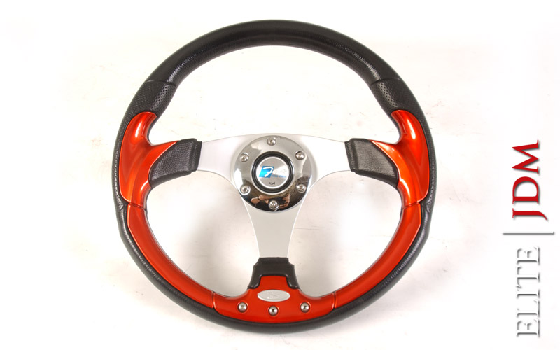 First Racing Sports Red Steering Wheel